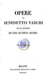 Opere ; Con Le Lettere Di Gio. Batista Busini: 38.39