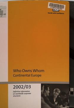 Who Owns Whom PDF
