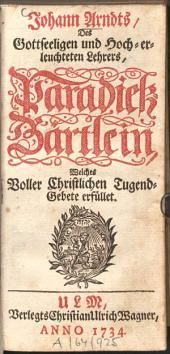 Paradieß-Gärtlein