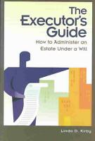 The Executor s Guide PDF