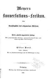 Meyers Konversations-Lexikon: Bd. A-Atlantiden