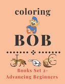 Coloring Bob Books Set 2-Advancing Beginners