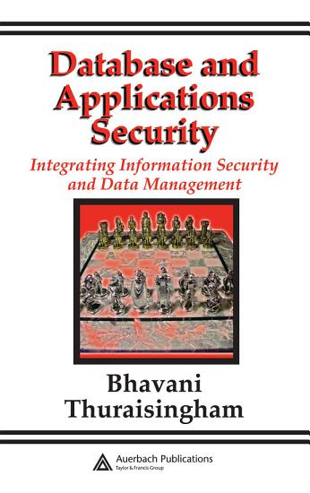 Database and Applications Security PDF