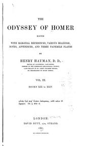 The Odyssey of Homer: Volume 3