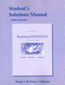 Student s Solutions Manual for Business Statistics PDF