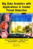 Big Data Analytics with Applications in Insider Threat Detection PDF