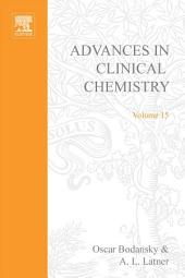 Advances in Clinical Chemistry: Volume 15