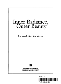 Inner Radiance  Outer Beauty Book