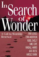 In Search of Wonder PDF