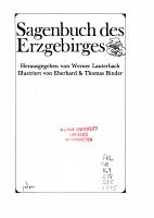 Sagenbuch des Erzgebirges PDF