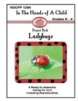 Project Pack  Ladybugs PDF