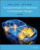 Fundamentals of Machine Component Design PDF