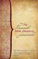 My Personal Bible Reading Journal PDF