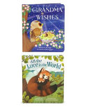 Love You Always: Grandma Wishes and All the Love in the World: Padded Board Book 2 Pack
