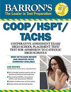 Barron s COOP HSPT TACHS Book