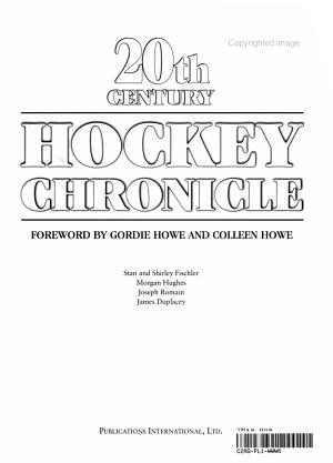 20th Century Hockey Chronicle