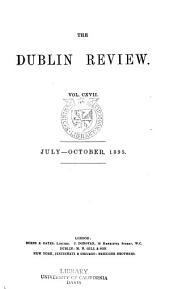The Dublin Review: Volume 117