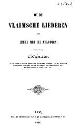 Oude Vlaemsche liederen: ten deele met de melodiën