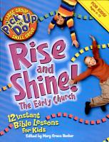 Rise and Shine  the Early Church PDF