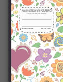 Primary Notebook with Picture Space Top Half Blank for Drawing