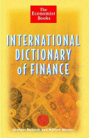 The International Dictionary of Finance PDF
