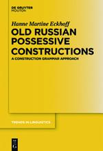 Old Russian Possessive Constructions