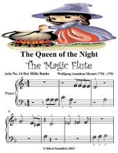 Queen of the Night the Magic Flute - Beginner Tots Piano Sheet Music