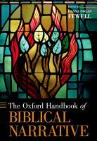 The Oxford Handbook of Biblical Narrative PDF