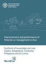 Characteristics and performance of fisheries co-management in Asia