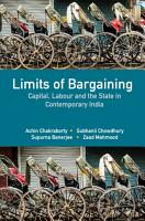 Limits of Bargaining PDF