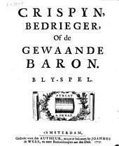 Crispyn, bedrieger, of de gewaande baron: blyspel