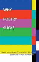 Why Poetry Sucks