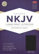 NKJV Large Print Ultrathin Reference Bible  Black Genuine Leather Indexed PDF