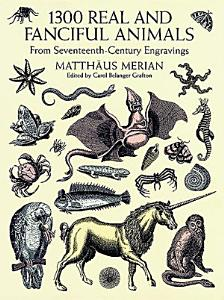 1300 Real and Fanciful Animals PDF