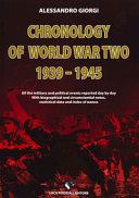 Chronology of World War II 1939-1945