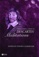 The Blackwell Guide to Descartes  Meditations PDF