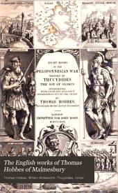 The English Works of Thomas Hobbes of Malmesbury: Volume 8