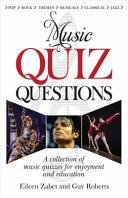Music Quiz Questions