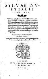 Sylvae nuptialis, libri sex