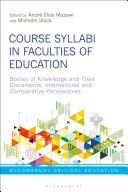 Course Syllabi in Faculties of Education