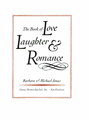 The Book of Love  Laughter   Romance PDF