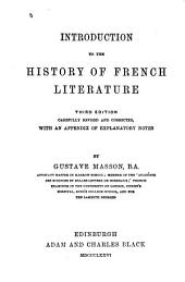 Introduction to the History of French Literature