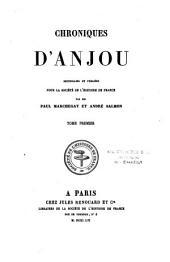 Chroniques d'Anjou