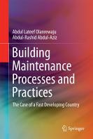 Building Maintenance Processes and Practices PDF