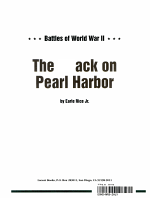 The Attack on Pearl Harbor PDF