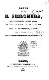 Leven van de H. Philomena, mirakeldoenster der XIXe eeuw