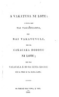 An explanation of the Christian religion     and institutions in a course of lectures  A vakatura ni lotu  etc PDF