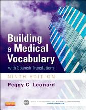 Building a Medical Vocabulary - E-Book: with Spanish Translations, Edition 9