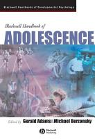 Blackwell Handbook of Adolescence PDF