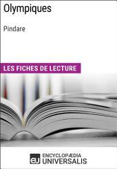 Olympiques de Pindare: Les Fiches de lecture d'Universalis
